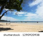 perfect holiday location | Shutterstock . vector #1290920938
