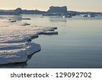 Strait Between The Antarctic...