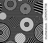 vector seamless pattern... | Shutterstock .eps vector #1290929758