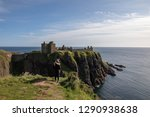 the amazing dunnottar castle in ... | Shutterstock . vector #1290938638