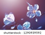 natural spring and summer...   Shutterstock . vector #1290939592