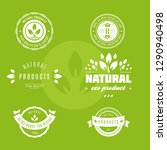 set of labels and stickers for... | Shutterstock .eps vector #1290940498