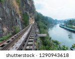 death railway located in... | Shutterstock . vector #1290943618