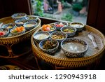 delicious thai food set served... | Shutterstock . vector #1290943918