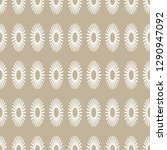 seamless pattern with ovals.... | Shutterstock .eps vector #1290947092