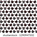 vector illustration. seamless... | Shutterstock .eps vector #1290947332