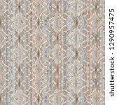vintage damask seamless pattern ... | Shutterstock . vector #1290957475