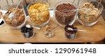 cereal jars for breakfast | Shutterstock . vector #1290961948