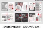 brochure creative design.... | Shutterstock .eps vector #1290992125