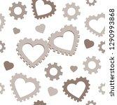 saint valentine's day vector... | Shutterstock .eps vector #1290993868