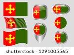 flag of ceiba  puerto rico   Shutterstock .eps vector #1291005565