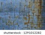old grunge iron texture  rusty... | Shutterstock . vector #1291012282