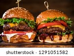 close up of home made tasty... | Shutterstock . vector #1291051582