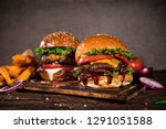 close up of home made tasty... | Shutterstock . vector #1291051588