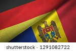 germany and moldova two flags...   Shutterstock . vector #1291082722