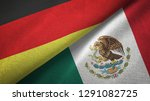 germany and mexico two flags...   Shutterstock . vector #1291082725