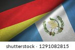 germany and guatemala two flags ...   Shutterstock . vector #1291082815