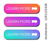 set of three modern gradient... | Shutterstock .eps vector #1291122328