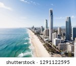 gold coast from the air. | Shutterstock . vector #1291122595