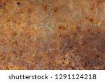 rust on wall background texture ... | Shutterstock . vector #1291124218