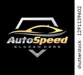 car detailing logo inspiration  ... | Shutterstock .eps vector #1291139602