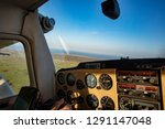 Cessna Cockpit View With...