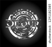 odour on grey camo pattern | Shutterstock .eps vector #1291182385