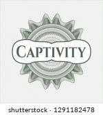 green abstract linear rosette... | Shutterstock .eps vector #1291182478