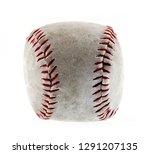 dirty    baseball isolated on...   Shutterstock . vector #1291207135