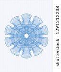 light blue abstract linear... | Shutterstock .eps vector #1291212238