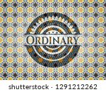 ordinary arabic badge... | Shutterstock .eps vector #1291212262