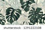 Botanical Seamless Pattern ...