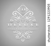 letter d logo   classic  ... | Shutterstock .eps vector #1291223905