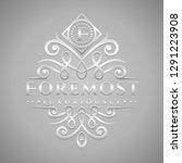 letter f logo   classic  ... | Shutterstock .eps vector #1291223908