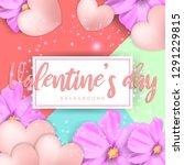 illustration of love and...   Shutterstock .eps vector #1291229815