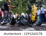 batu caves  malaysia january 21 ... | Shutterstock . vector #1291263178