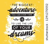 inspirational quote  motivation....   Shutterstock .eps vector #1291270552