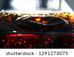 close up of soda droplet  ... | Shutterstock . vector #1291273075