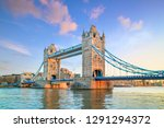 london skyline with tower... | Shutterstock . vector #1291294372