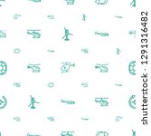 rotate icons pattern seamless... | Shutterstock .eps vector #1291316482