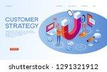 customer strategy  customer... | Shutterstock .eps vector #1291321912