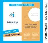 avatar company brochure... | Shutterstock .eps vector #1291323268