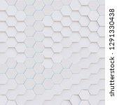 3d illustration. abstract... | Shutterstock . vector #1291330438