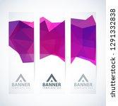 vector design template set of... | Shutterstock .eps vector #1291332838