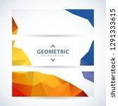 vector design template set of... | Shutterstock .eps vector #1291333615
