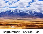 beautiful mountains landscapes... | Shutterstock . vector #1291353235