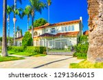 urban views of the beverly...   Shutterstock . vector #1291366015