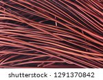 copper wire texture | Shutterstock . vector #1291370842