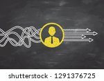 human resources concepts on...   Shutterstock .eps vector #1291376725