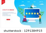 costumer review rating vector...